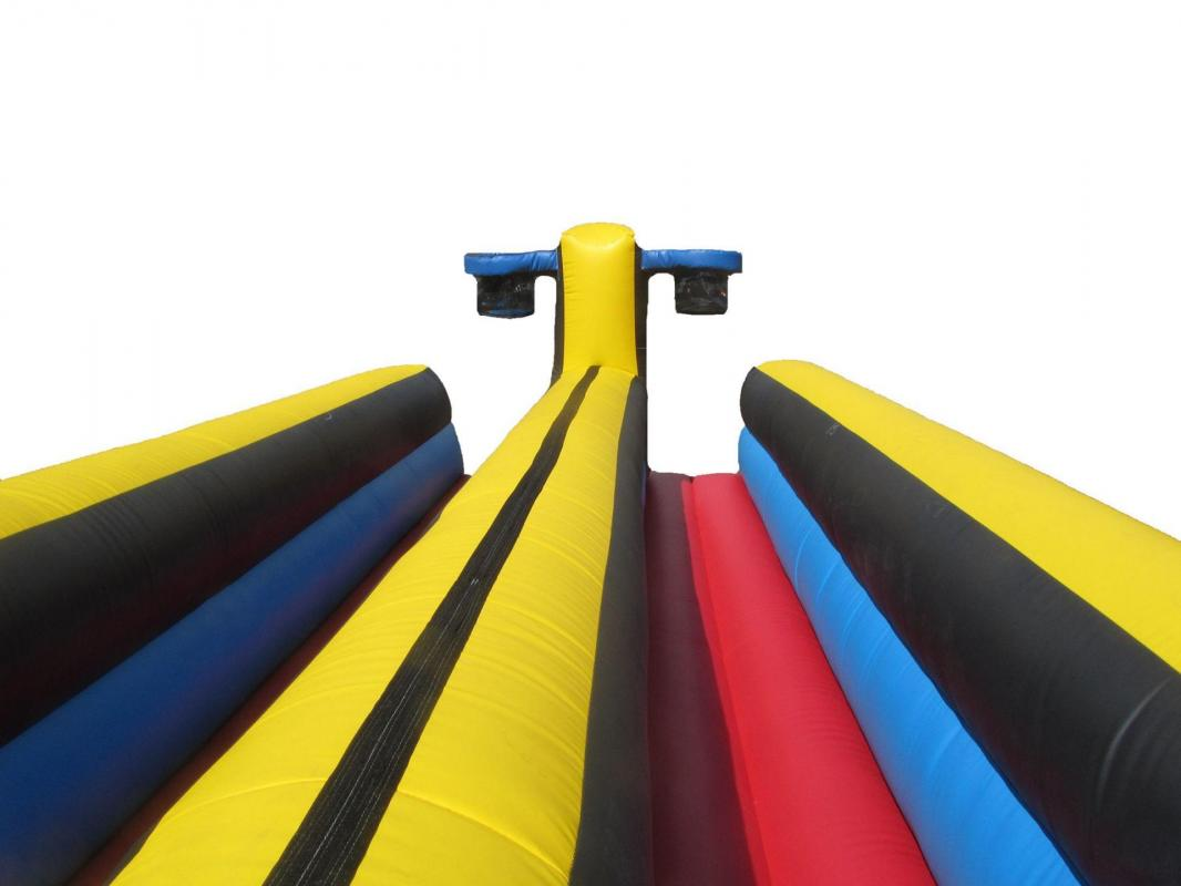 Bungee basket inflatable bouncy castle game 2 compressor copy