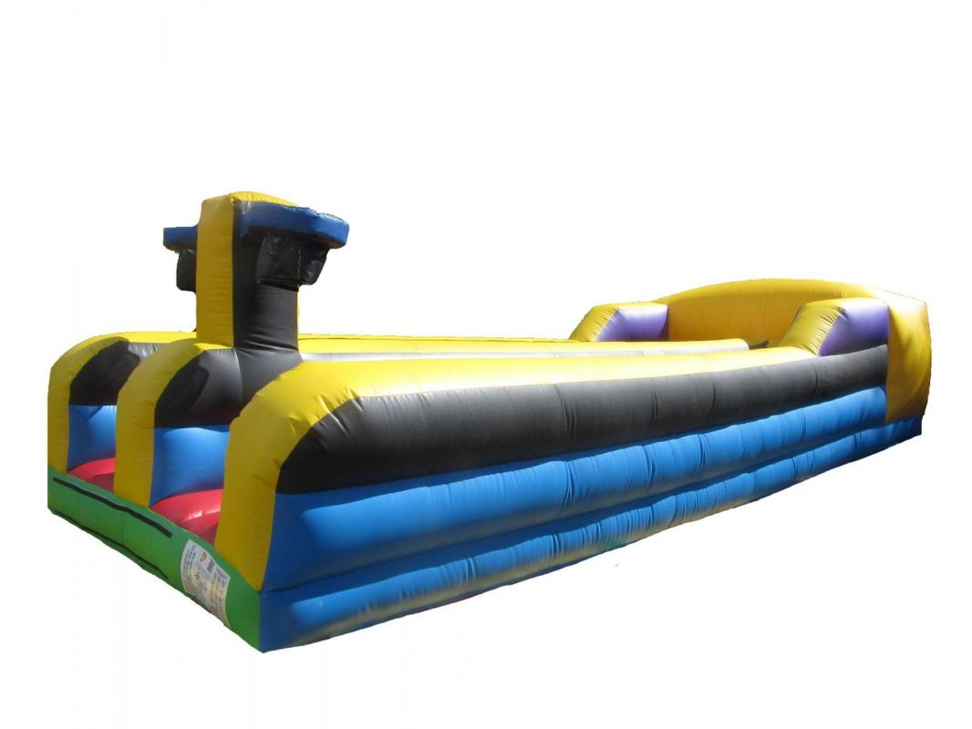 Bungee basket inflatable bouncy castle game 3 compressor copy