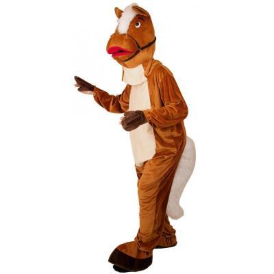 Costume peluche cheval