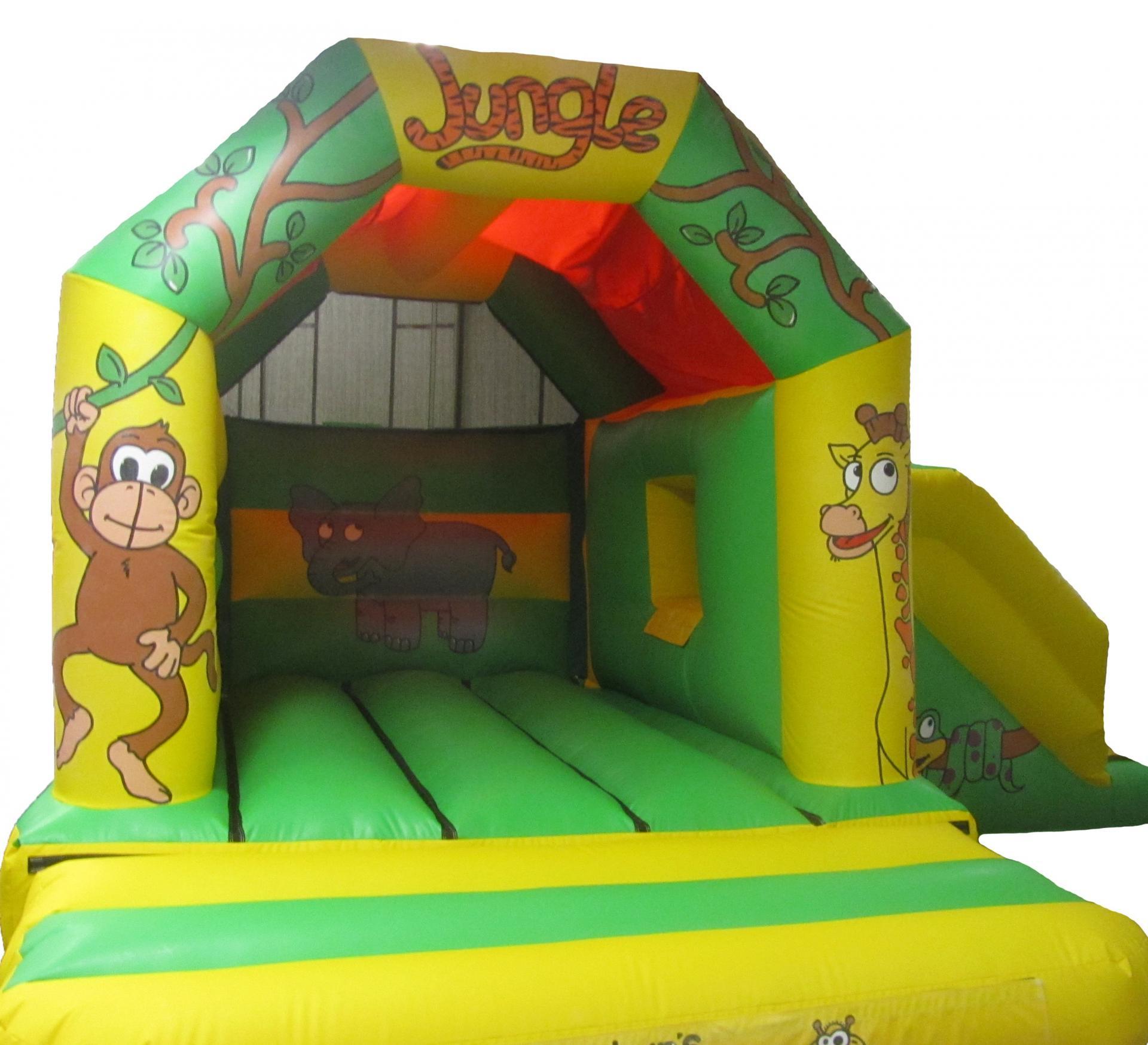 Jungle bouncer jumpingcastlecomboslide forsale