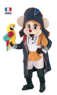 Pirate souris lamascotte 539